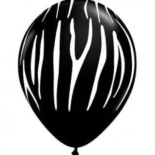 Zebra Black & White Stripes - 5 Pack