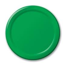 Emerald Lunch Plates