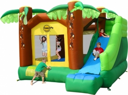 The Jungle Castle with Slide