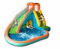 The Water Slide with Paddling Pool