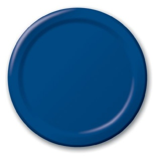 Royal Blue Lunch Plates