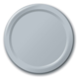 Silver Lunch Plates