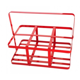 Small Red Bottle Crate